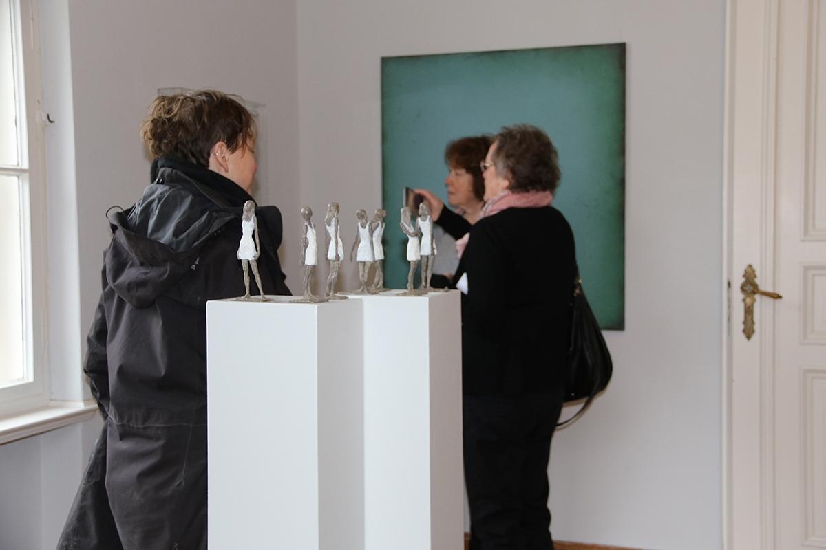 """Ausstellungseröffnung """"Erster Zyklus: Sechs Frauen"""""""